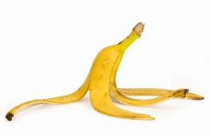 Bananskal