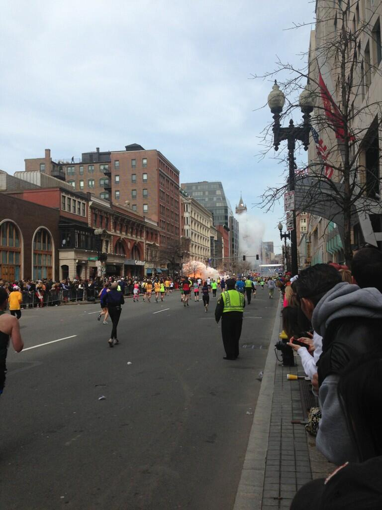 Bomb Boston Marathon